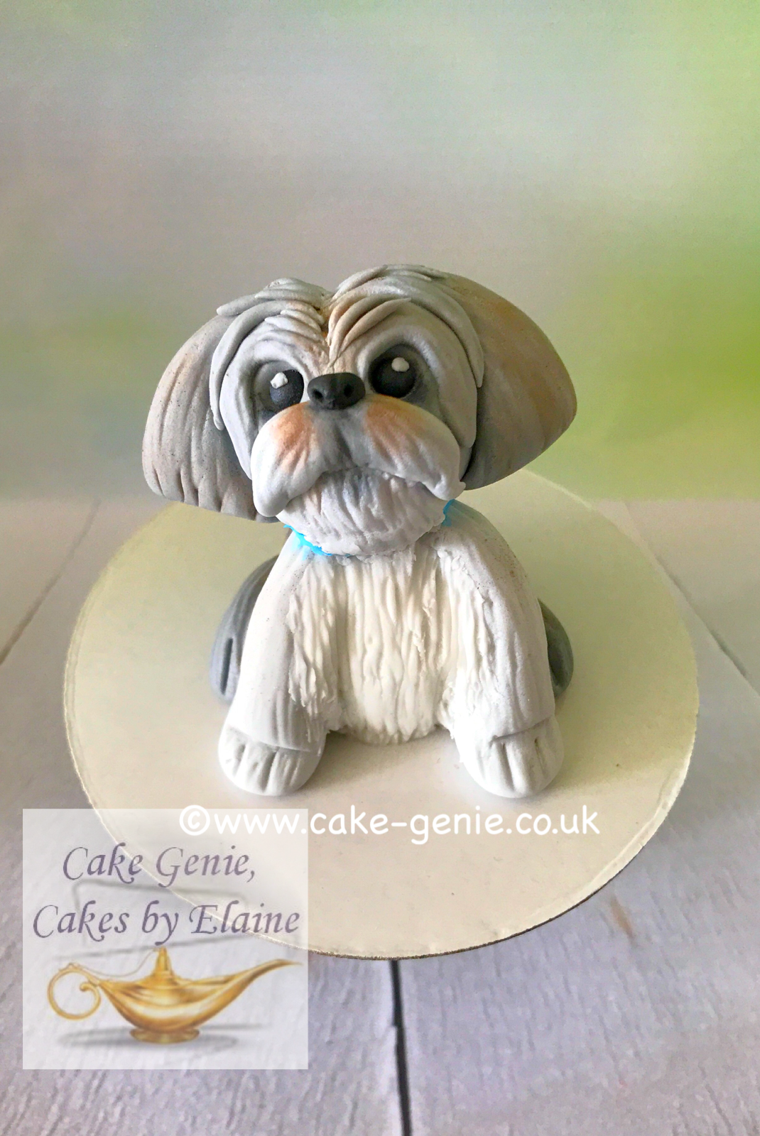 Shih Tzu Cake Topper Cake Toppers Pinterest Cake Cake Toppers