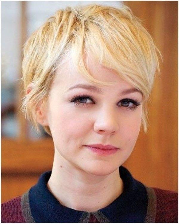 Süße Blonde Pixie Haarschnitt Für Feines Haar Hair Style