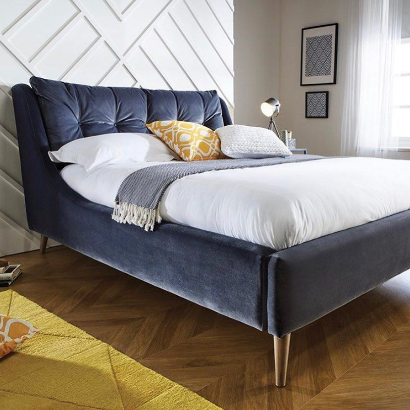 What Do You Look For In A Bed If Comfort And Style Is High On Your List Then Our Ascot Bed Is The P In 2020 Bettgestell Bettrahmen Mit Schubladen Wohnung Schlafzimmer