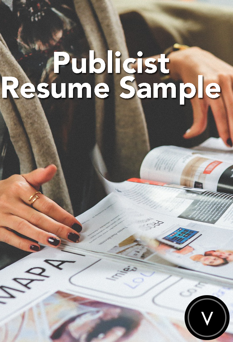 Land that publicist job with the help of our resume samples! #resume ...
