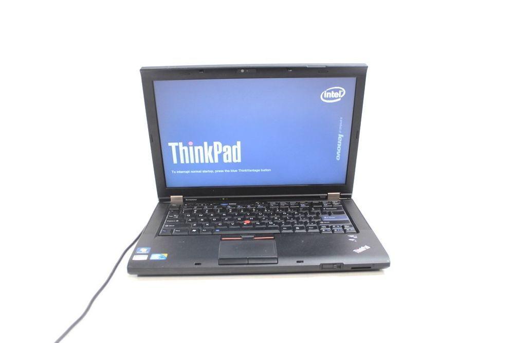 Lenovo ThinkPad T410 Intel Core i5 2 40GHz 4GB RAM 160GB HDD