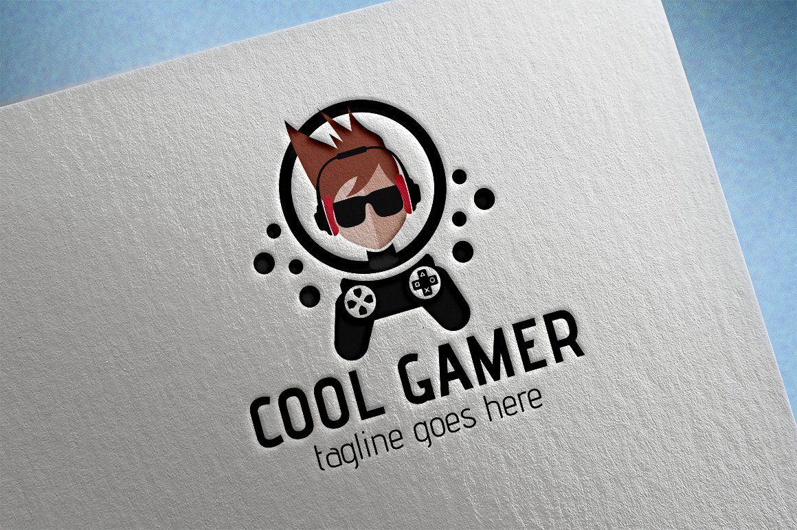 Cool Gamer Logo Game Logo Design Game Logo Logo Design