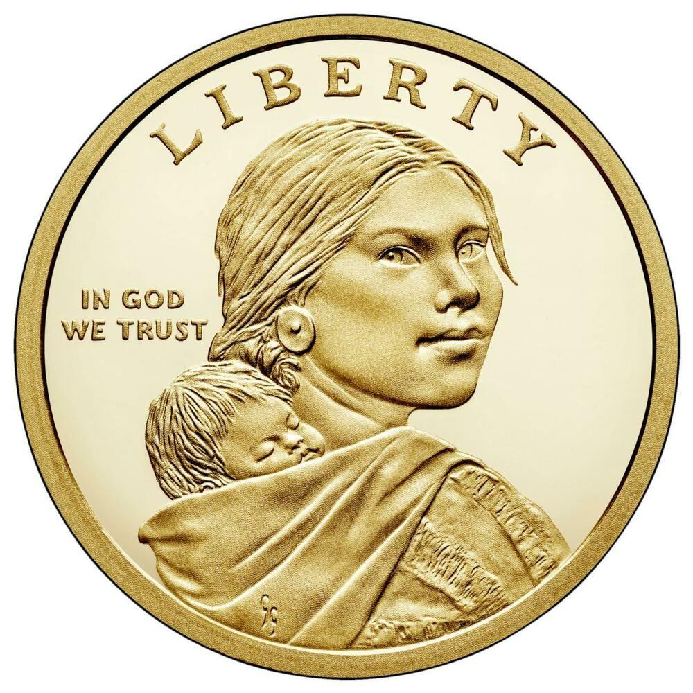 2003-S Sacagawea Dollar Coin Gem Proof Deep Cameo U.S