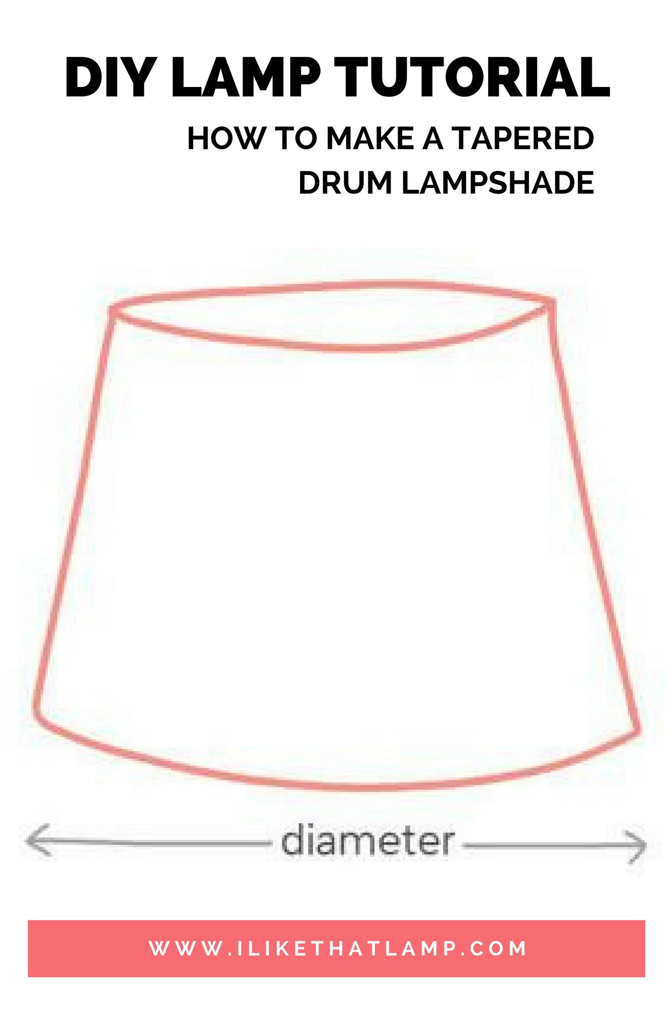 flat table lamp shades