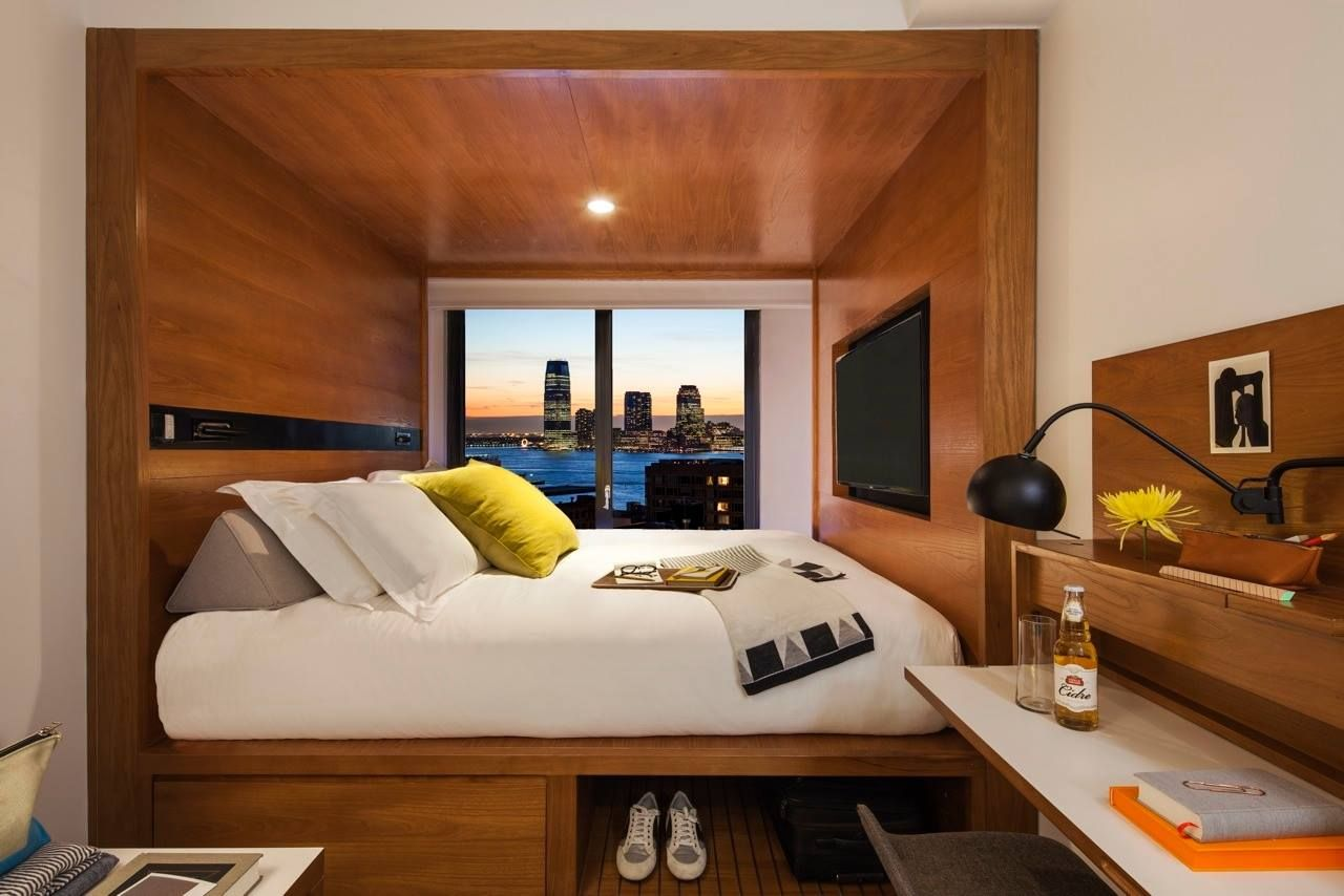 America S First Micro Hotel With 4 Star Design Packs Big Style