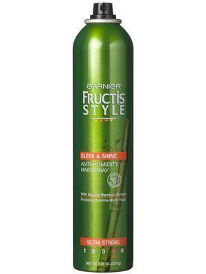 Garnier Fructis Style Sleek Shine Anti Humidity Hairspray Anti Humidity Hair Spray Hairspray Drugstore Hair Products