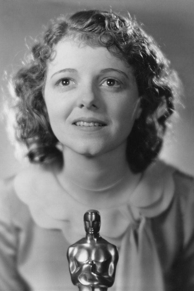1st ever best actress winner Janet gaynor