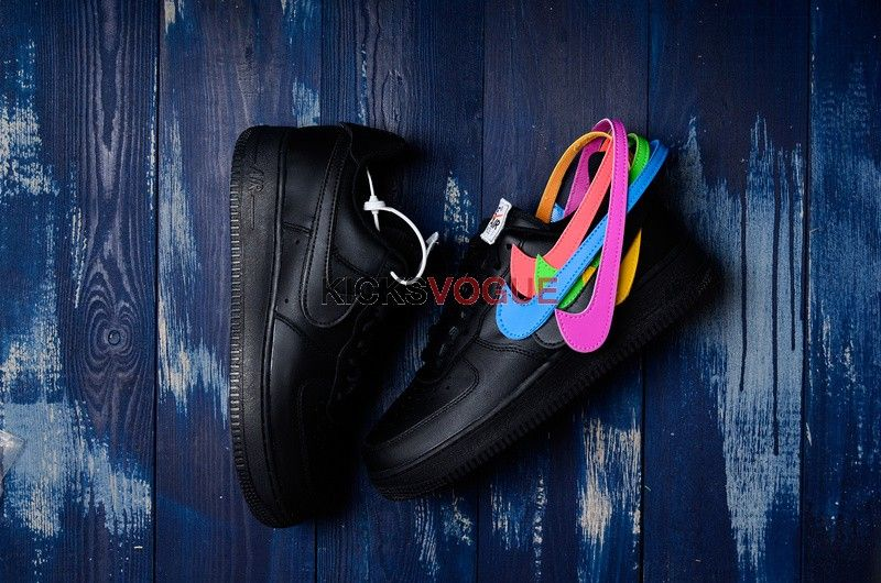 buy online e22b7 24288 Nike Air Force 1 Low Swoosh Pack All-Star 2018 Black AH8462 ...