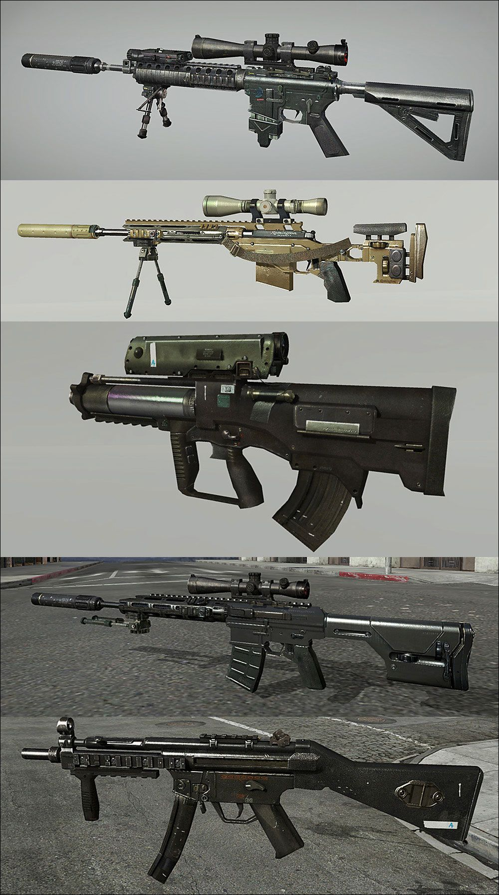 Call Of Duty : Modern Warfare 3 weapon. What are some of your ...