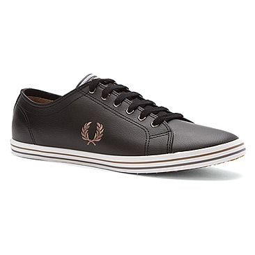 Fred Perry Kingston Twill Sneaker Black/Driftwood/Stee