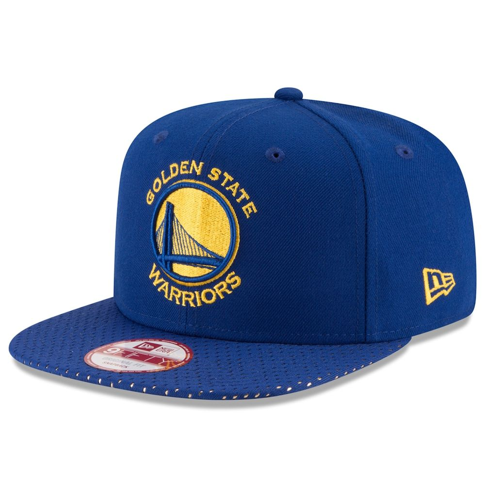finest selection 3ed77 7c9a4 Adult New Era Golden State Warriors 9FIFTY Shine Through Snapback Cap,  Multicolor