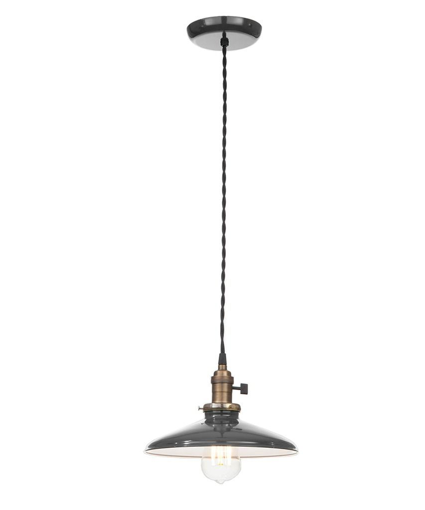 Vintage style edison industrial pendant lamp black lighting