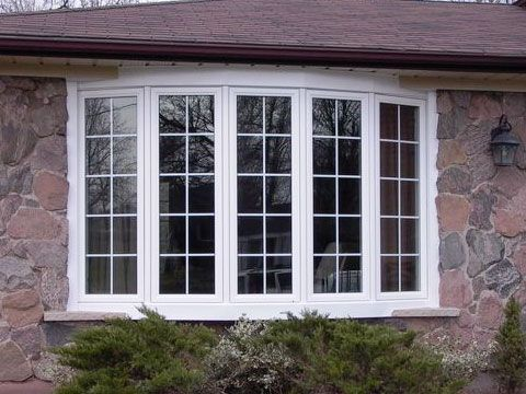 Box bay window these windows are a square shape with 90 for Box bay windows