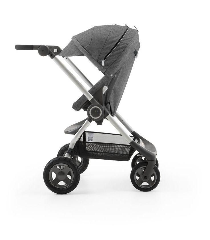 Stokke Scoot Stroller in Black Melange