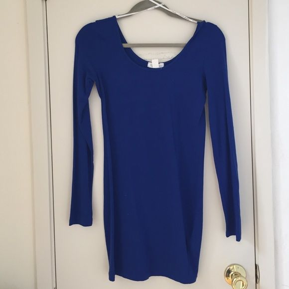 Royal Blue Short Little Blue Dress This is perfect to wear casually or you can dress it up w jewelry. Forever 21 Dresses Long Sleeve