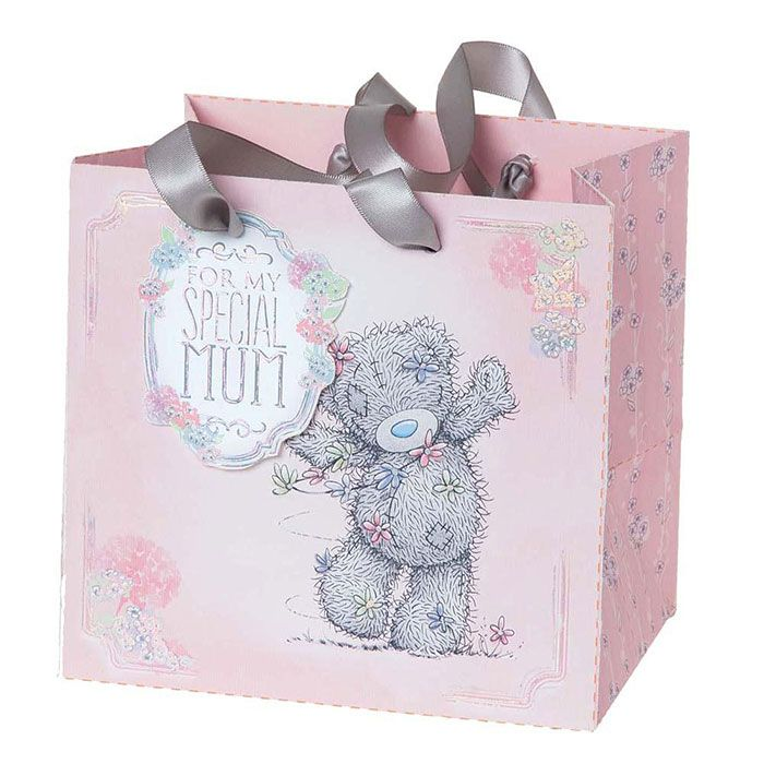 Tatty Teddy Bear Me to You Medium 3D Holographic Gift Bag With Presents