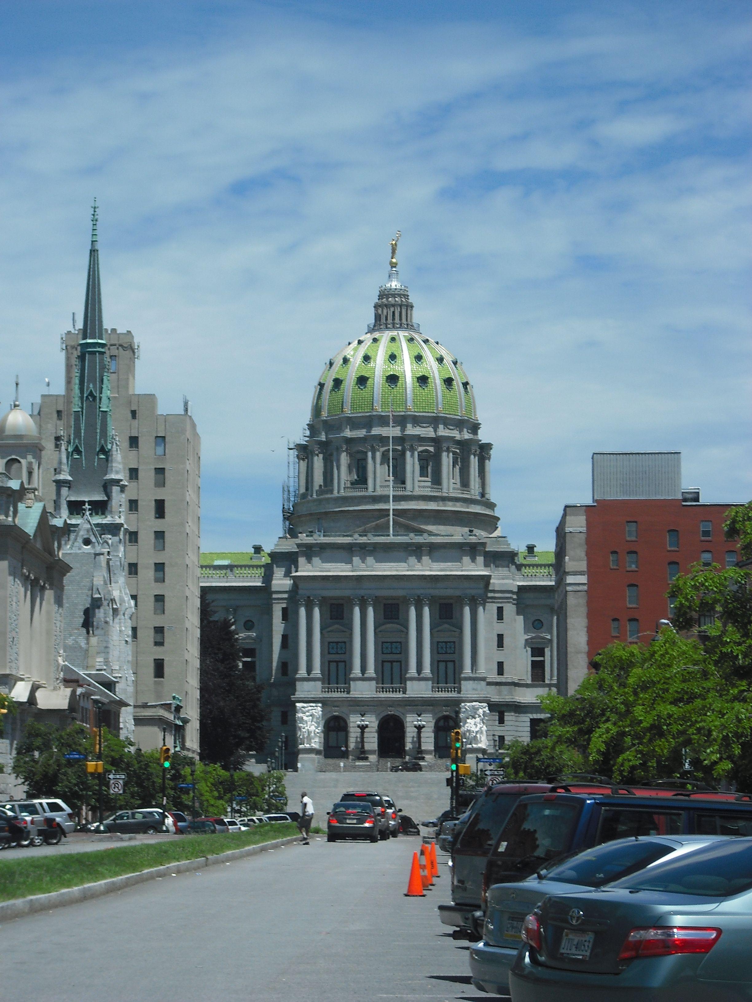The Capitol Harrisburg Pennsylvania Pennsylvania Travel Capitol Building America Travel