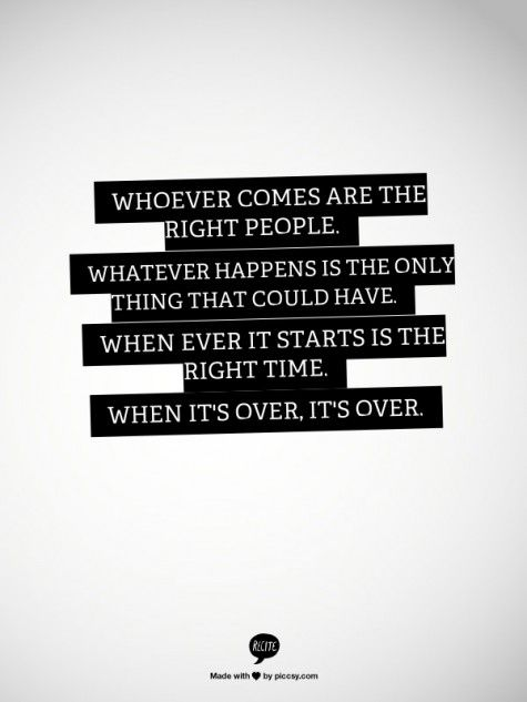 whoever, whatever, whenever...