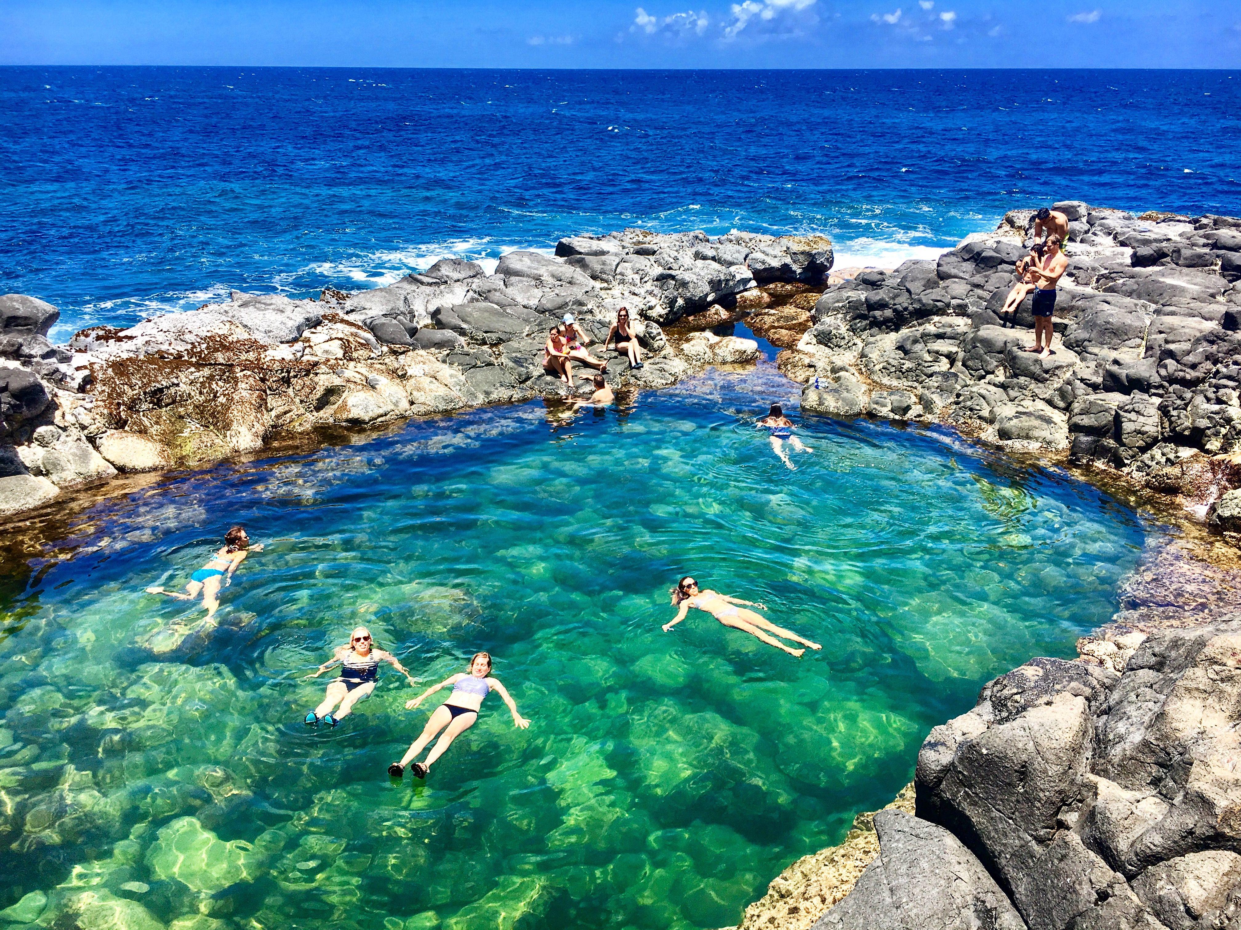 Queen S Beach Kauai Hawaii