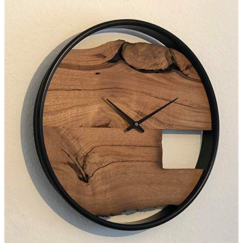 Wanduhr Holz Handmade Produkte Baby Geschenke Babyandenken Zur Geburt Handmade Produkte Bekleidung Schuhe Accessoires Ba Wood Wall Clock Wall Clock Clock