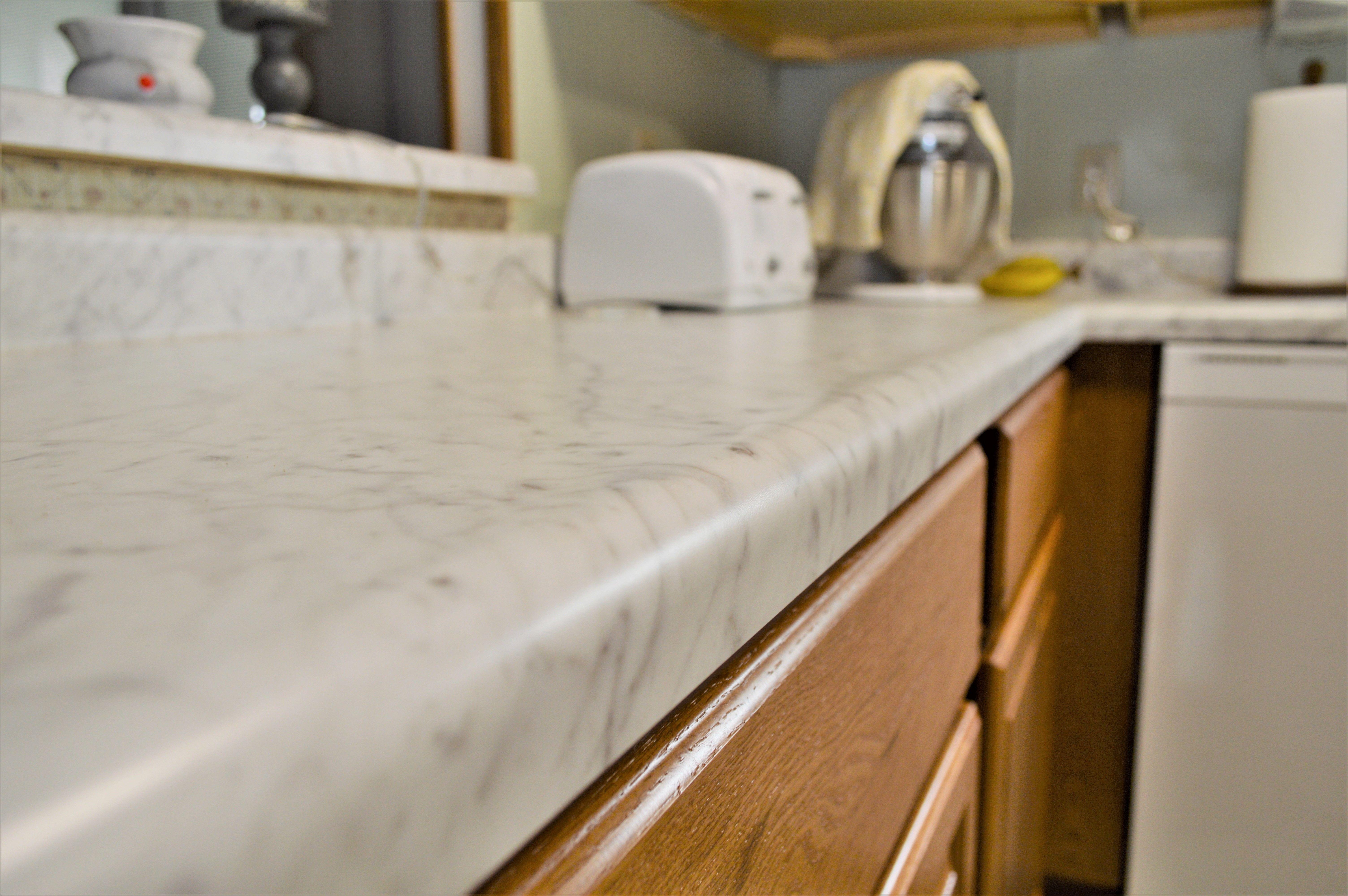Laminate Countertop Ultra Form Edge Detail Coved Backsplash