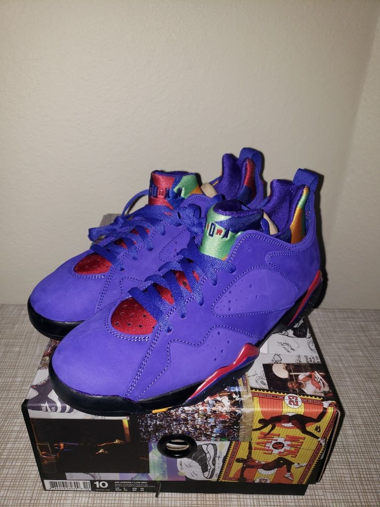 the latest b54db bc544 Nike Air Jordan 7 VII Retro Low NRG Bright Concord Size 10 ...