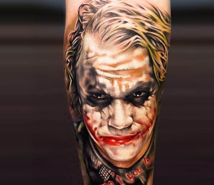 Bekommt Joker Den Oscar Fur Die Meisten Tattoos 13