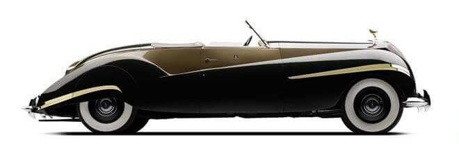 1939 47 Rolls Royce Phantom Iii Vutotal Cabriolet By Labourdette