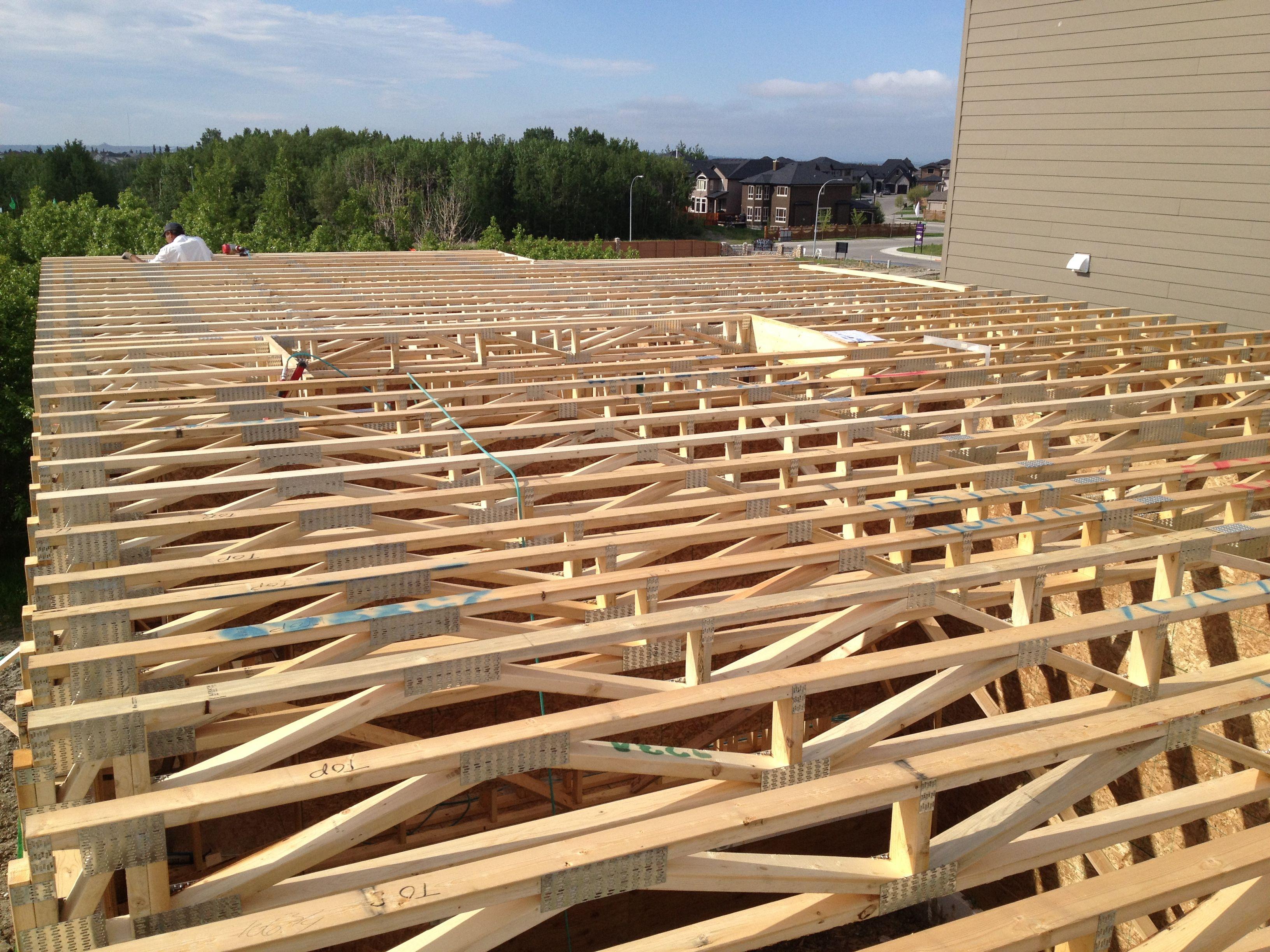 open web floor truss
