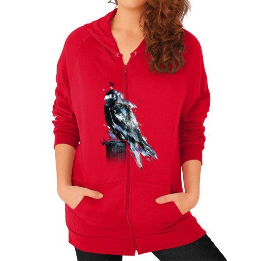 Flight Zip Hoodie (on woman)