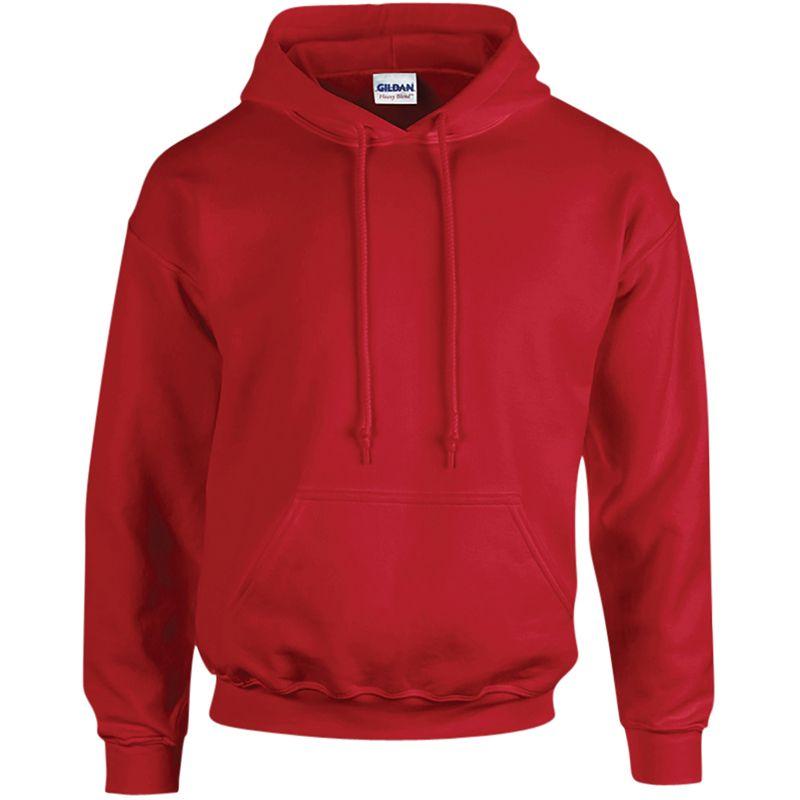 Mens Heavy Blend Plain Hooded Sweatshirt Sweat Hoody Jumper Pullover Hoodie