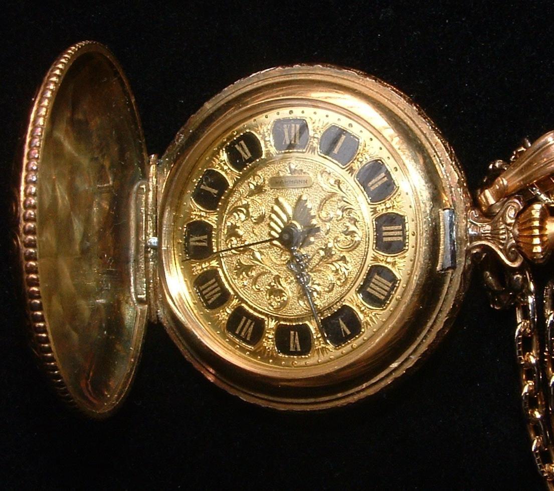 Antique pocket watch  vintage-wakmann-pocket-watch | Watches | Pinterest | Pocket watch ...