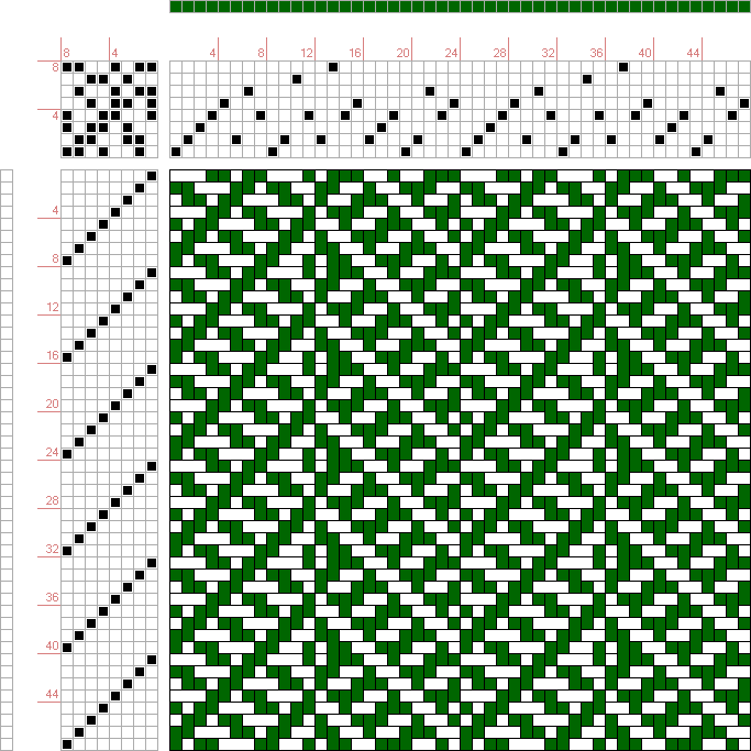 draft image: 24029.1, 2500 Armature - Intreccio Per Tessuti Di Lana, Cotone, Rayon, Seta - Eugenio Poma, 8S, 8T