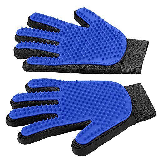 Upgrade Version Pet Grooming Glove Gentle Deshedding