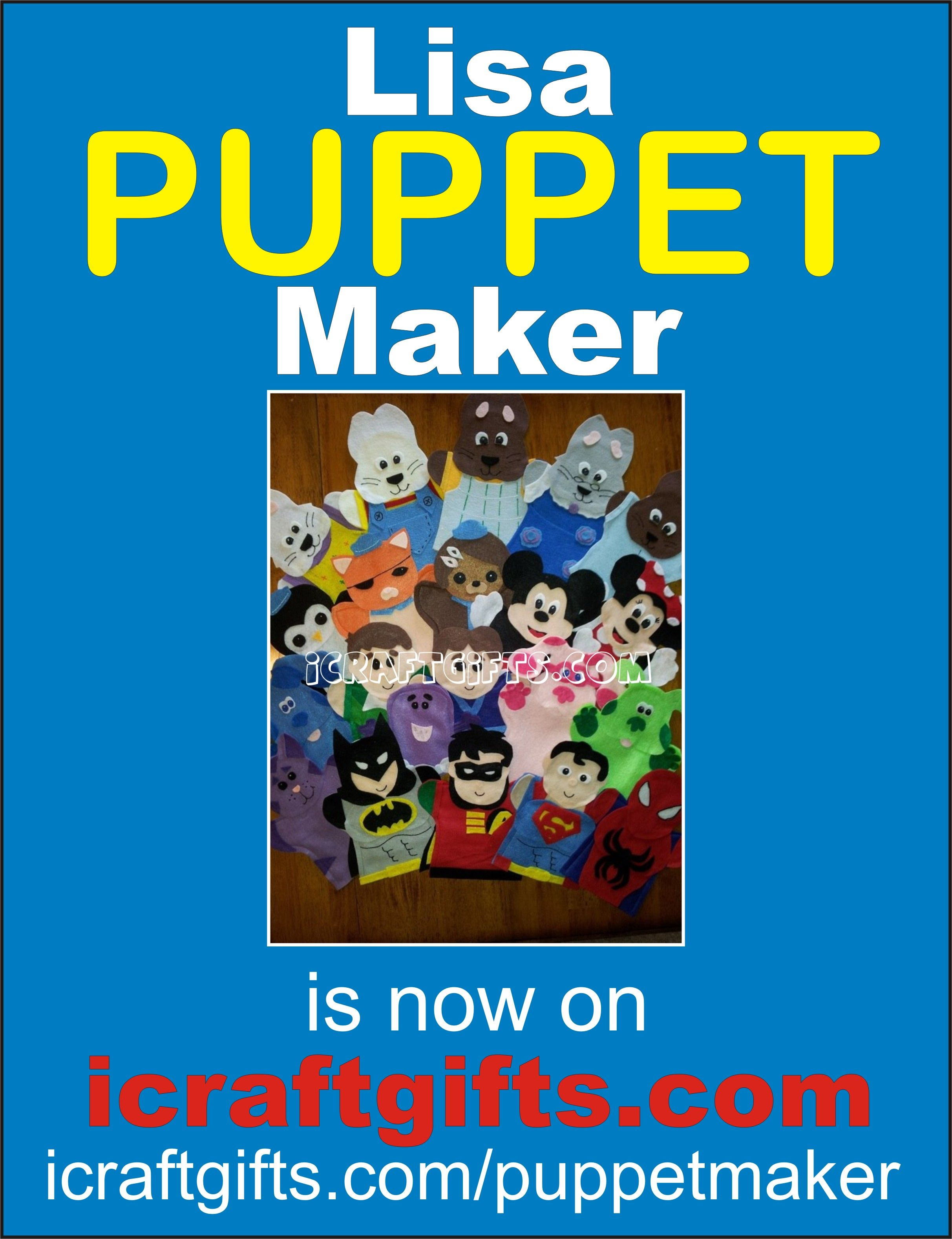 Lisa Been Making Puppets For 8 Years Now Lisa Makes