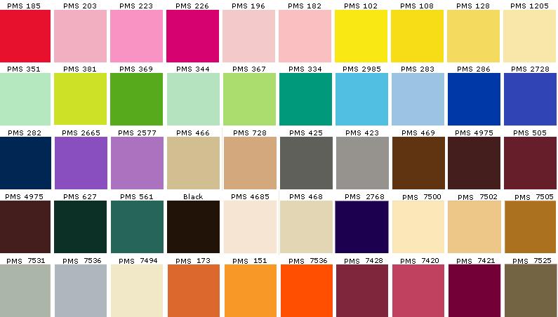Feng Shui Colors Asian Paints Colours Pantone Color Chart Paint Color Chart