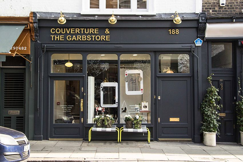 Couverture The Garbstore Storefront Storefronts Shop Signage Cafe Exterior Shop Interiors