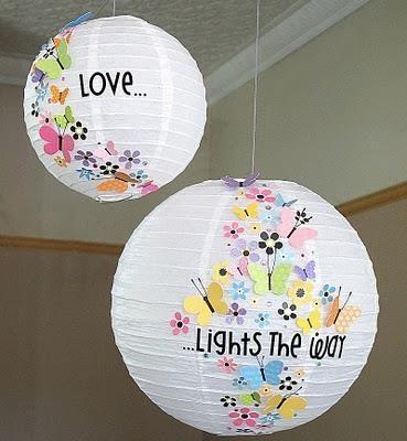 Diy Ideas How To Decorate Paper Lanterns Paper Lanterns Diy