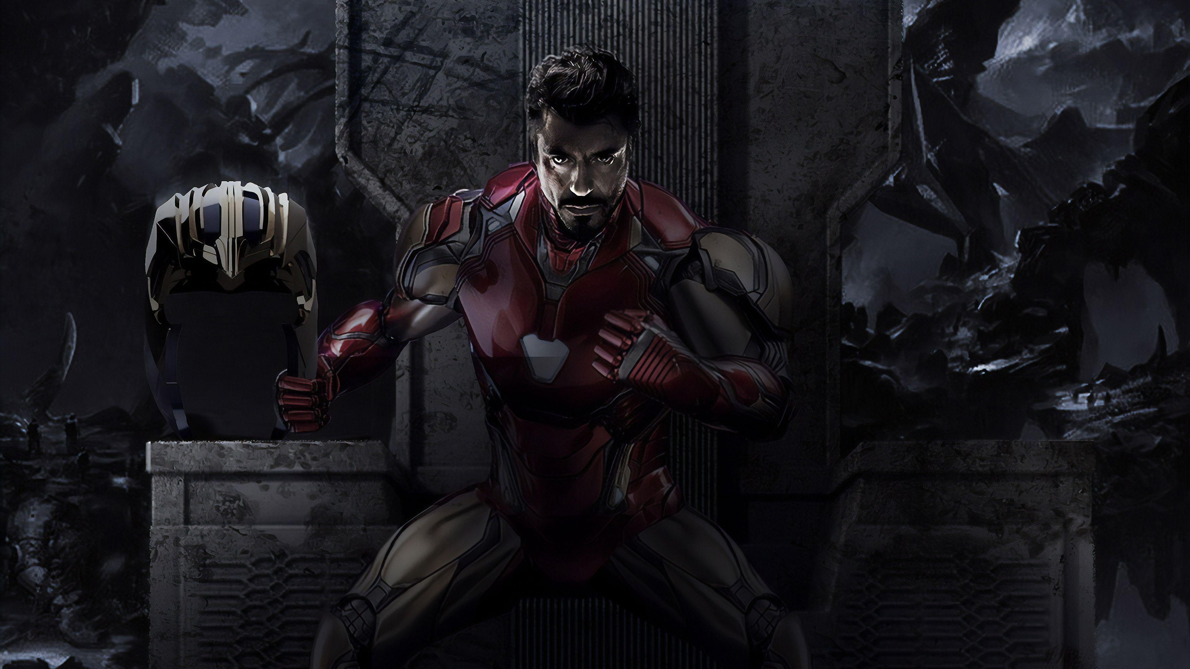 Iron Man Endgame 4k Superheroes Wallpapers Iron Man Wallpapers Hd Wallpapers Digital Art Wa Iron Man Wallpapers Avengers Endgame Iron Man Iron Man Wallpaper