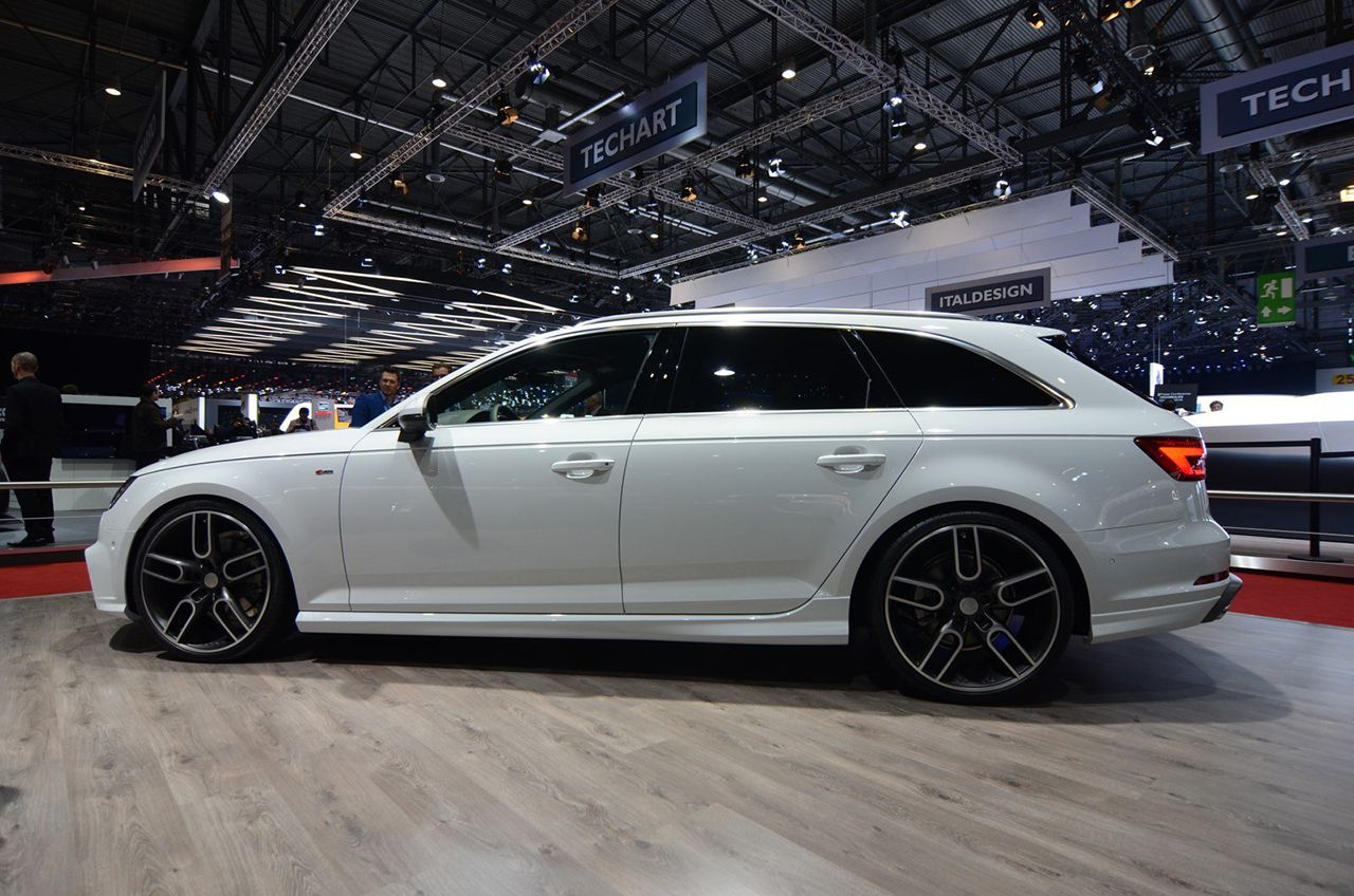 the new audi a4 berline avant by caract re audi tuning. Black Bedroom Furniture Sets. Home Design Ideas