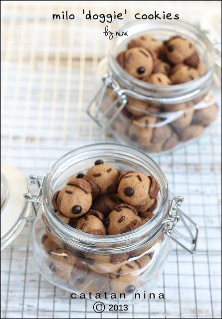 Catatan Nina Milo Doggie Cookies Kue Kering Mentega Kue Kering Resep