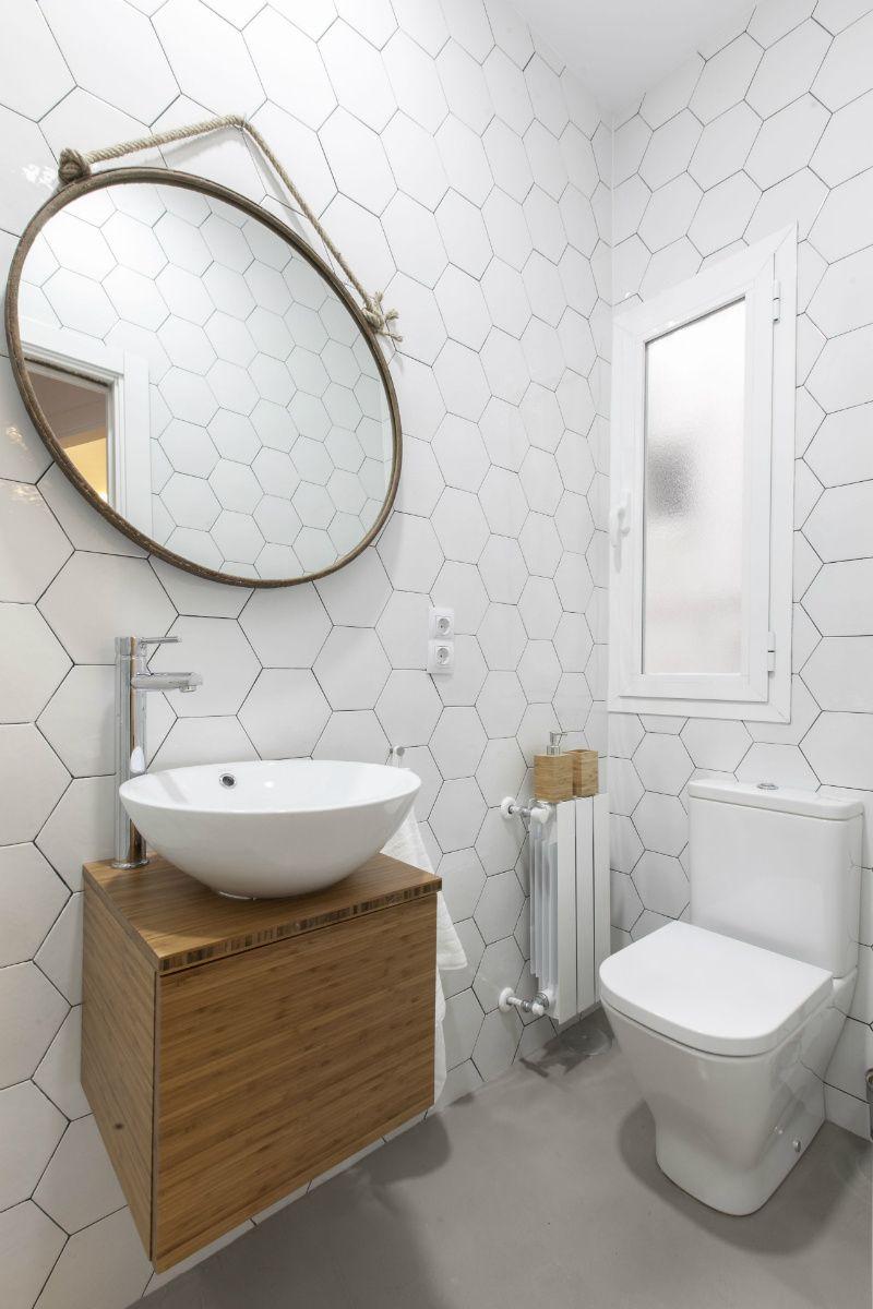 Mi PRECIADO hogar   Espejo redondo para baño, Decoracion ...