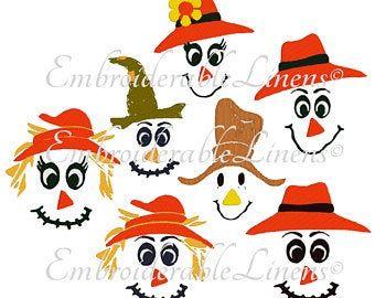 Primitive Pumpkin Pattern Punkin Paddy Raggedy Instant Download Pattern #embroiderypatternsbeginner