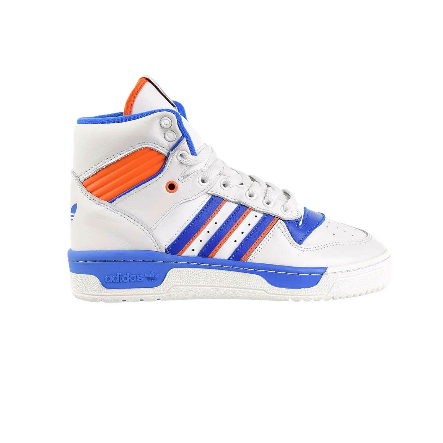 Adidas Rivalry Mens Shoes Crystal White Blue Orange f34139