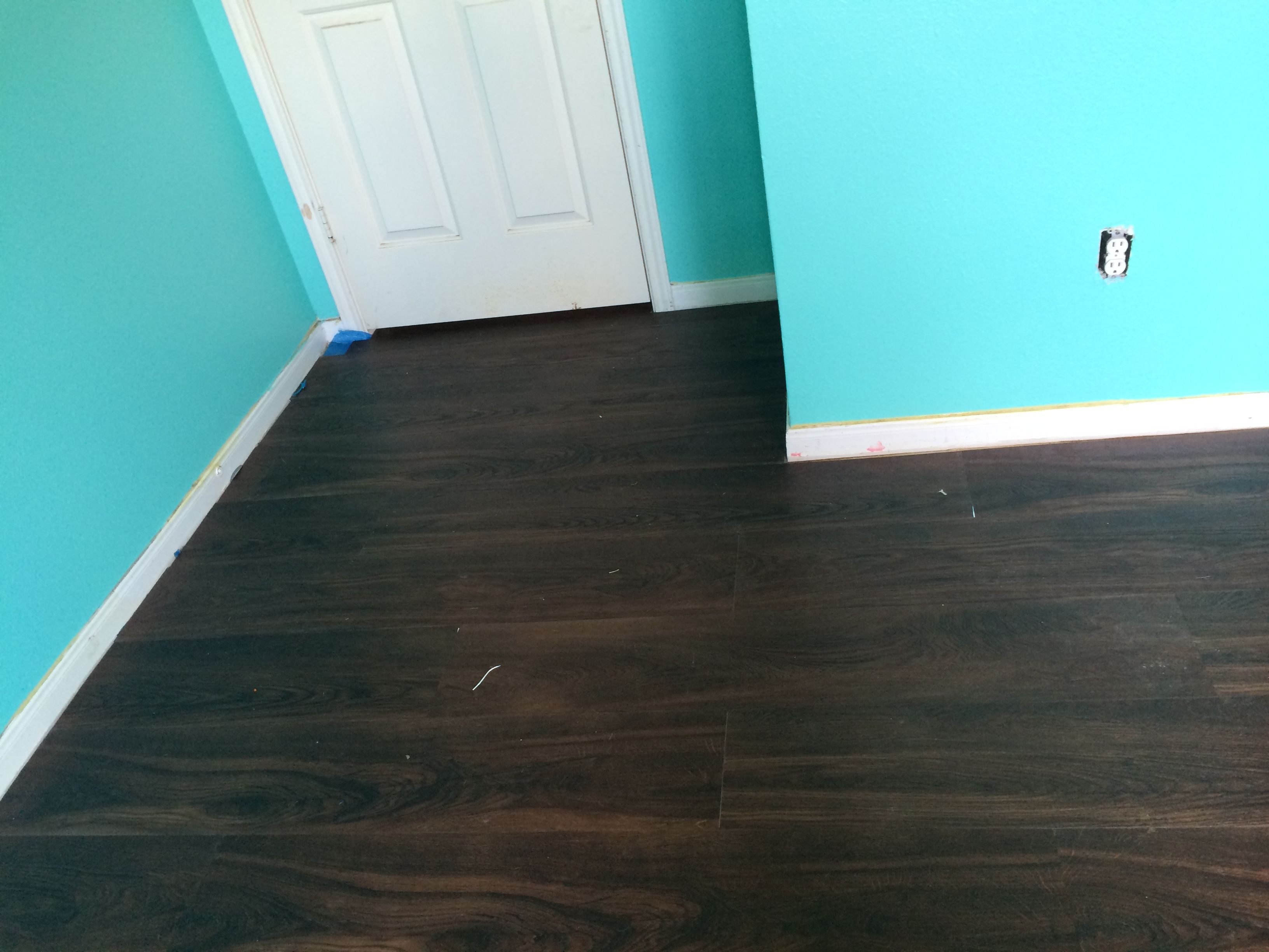 Sherwin Williams Tantalizing Teal Using Their Emerald