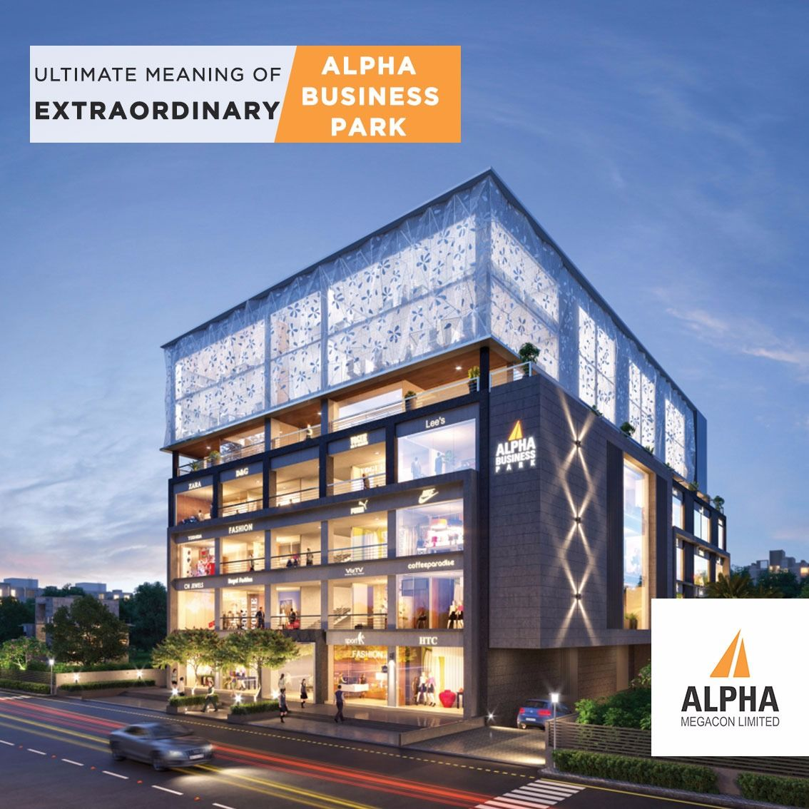 Alpha Business Park Ultimate Meaning of Extraordinary.... Alpha Megacon  Limited Address-