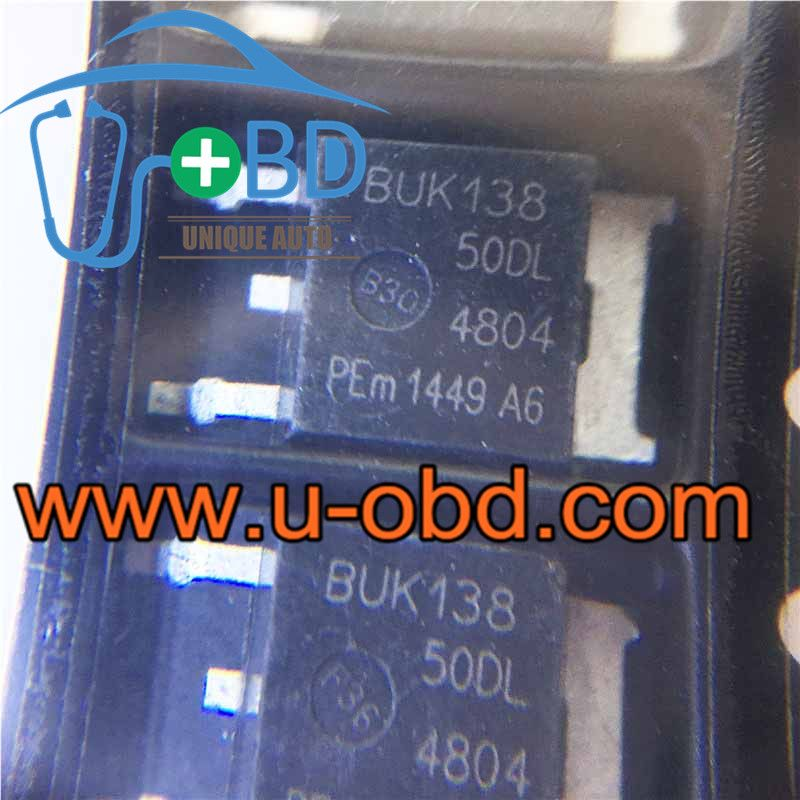 BUK138-50DL Commonly used ignition chips for BOSCH ECU - 10 PCS/ lot