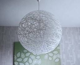 Lampara colgate para techo ideas pinterest como - Como hacer lamparas colgantes ...