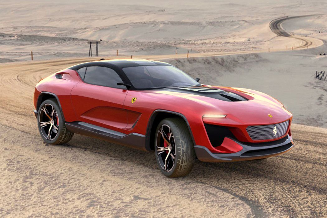 Ferrari Gt Cross In 2020 Ferrari Suv Coupe