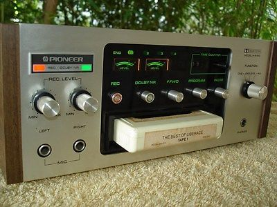 Vintage Pioneer H R100 8 Track Tape Cartridge Recorder Player Deck In Consumer Electronics Audio Video Players